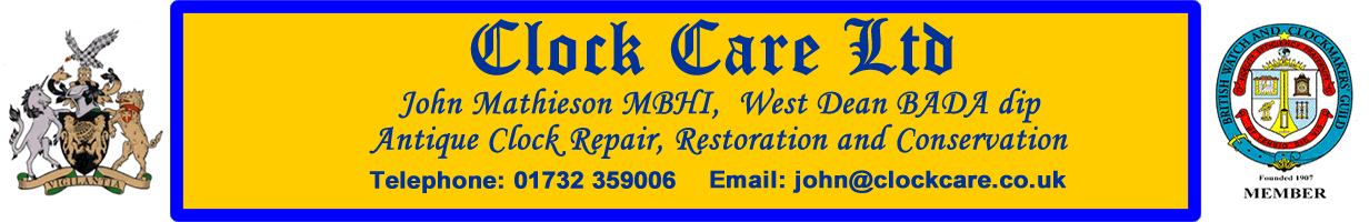 Clock Repairs Services in Tonbridge in Kent
